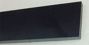 Micarta black paper 6 mm, sztuka